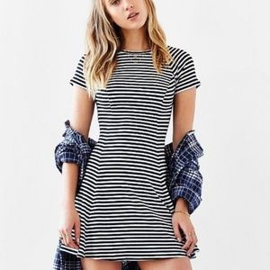 BDG ribbed fit and flare dress